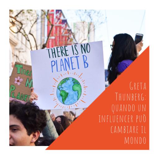 PASA Media | Blog | Greta Thunberg: quando un influencer può cambiare il mondo